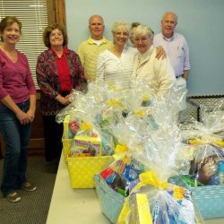 Easter Baskets for the Residents of Benjamin House